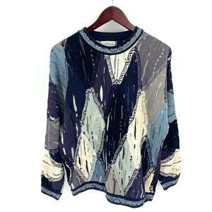Vintage 90s Authentic COOGI Monochromatic Sweater